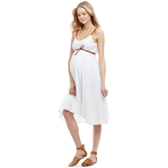 924ff305602b7 Jessica Simpson Dresses & Skirts - Jessica Simpson white maternity dress
